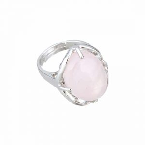 STBAG2-QRZ Bague quartz rose par FitYo.fr